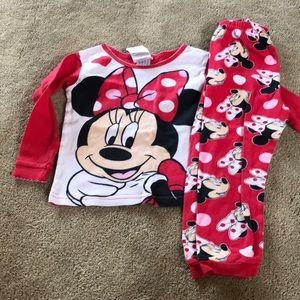 Minnie Mouse Pajama Set 4T